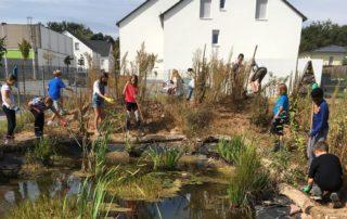 Bepflanzung des Schulgartens