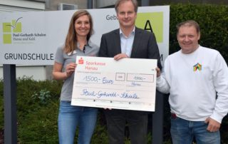Martin Forchheim überreichte jeweils 1.500 Euro