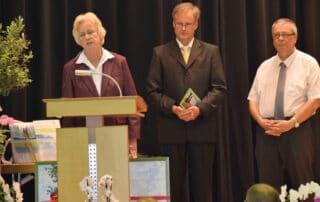 Regina Schneider wurde als stellvertretende Schulleiterin in den Ruhestand verabschiedet.